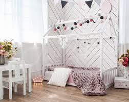 Kid Bed Frames House Bed Frame Etsy