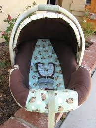 Carseat Canopy For Boy by Seeking June Cleaver Recovering An Infant Car Seat