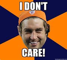 Jay Cutler Memes - cutler don t care story told at the laugh factory video