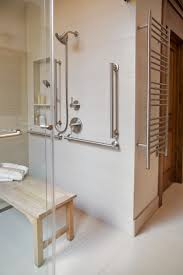 handicap bathroom designs before u0026 after an accessible master bathroom is created using
