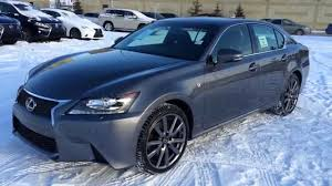 lexus sports car gs new grey on black 2015 lexus gs 350 4dr sdn awd f sport series 2
