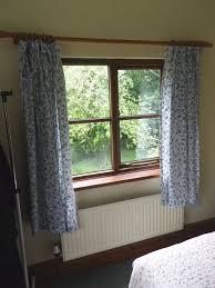 Vintage Green Curtains Vintage Jonelle Duracolour Cotton Curtains U0027emma U0027 Design Blue