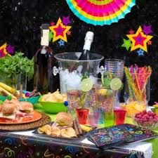 New Years Eve Cocktail Party Ideas - midnight shot bar recipes party city
