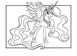 my little pony 5 coloriage des petits poneys my little pony