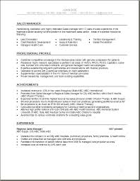 health care resume templates sales manager health care resume