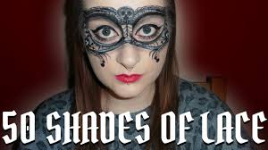 gothic lace masquerade mask face painting tutorial youtube