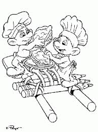 the smurfs papa smurf coloring page to print and free download