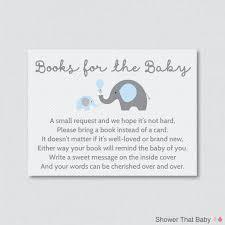 Free Baby Shower Invitation Cards Enchanting Baby Shower Invitations Bring A Book Instead Of Card 97
