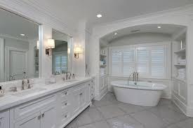 gray bathroom ideas transitional bathroom anne hepfer designs