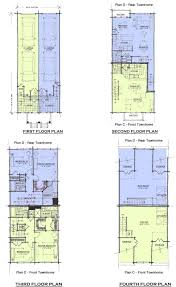 townhome plans house plans historical concepts house plan