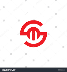 s m ms initial letter logo sm ms m stock vector 582387262