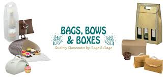 bags with bows bags bows boxes closeout