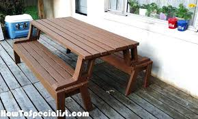 picnic table seat covers picnic table bench building picnic table and bench plans simple