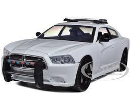 dodge charger pursuit dodge charger pursuit unmarked blank white car 1 24