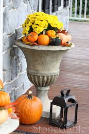 Outdoor Thanksgiving Decorations by Outdoor Fall Decor Stonegable