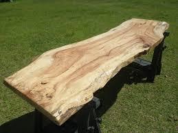 slab wood finished live edge spalted pecan carya illinionensis wood slab