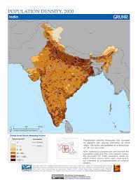 World Population Density Map Maps Global Rural Urban Mapping Project Grump V1 Sedac