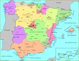 Espana Map Mapa De España Annamapa Com