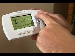 how to install a wireless thermostat youtube