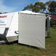 Awning Walls Caravansplus Camec Caravan End Wall 90 Shade Sloped Top 2 1m