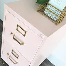 Metal Filing Cabinet Painted Metal Filing Cabinet Chalk Paint Powder Bbfrosch