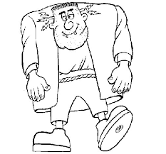 frankenstein coloring coloringcrew