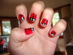 lady bug nails nail art gallery