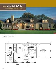 the villa maria ranch style home 1512 square feet 3 bedrooms 2