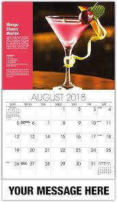 martini mango cocktail and drink recipes calendar 65 business promotional
