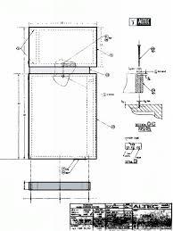 cabinet plans altec lansing model 19 cabinet plans great plains audio