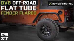 first jeep wrangler ever made jeep wrangler 2007 2017 jk dv8 off road flat tube fender flares