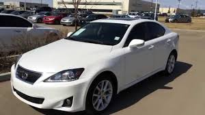 lexus sedan 2012 lexus certified pre owned white 2012 is 250 awd leather w