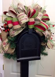 rustic mailbox swag swags wedding i am and rustic