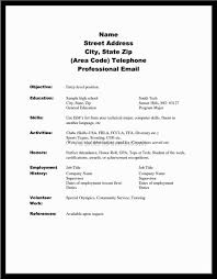 Student Resume Template Australia How To Write A Job Resume For Highschool Student Students Template