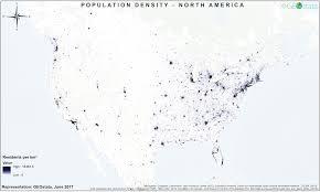 Population Density Map Of The World by World Population Density