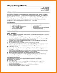 7 project manager resume templates letter of apeal