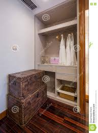 modern luxury interior home design cloakroom stock photo image