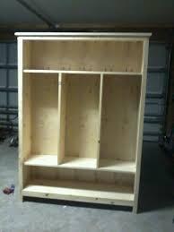 diy kids lockers 25 best diy entryway storage ideas on