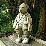 mr toad from wind in the willows garden statue made from