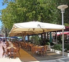 decorating charming offset patio umbrella for exterior home