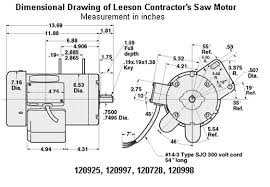leeson motor wiring diagram leeson wiring diagrams instruction