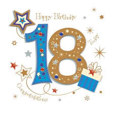happy 18th birthday greeting card by talking pictures cards