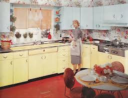 294 best yellow retro kitchens images on cabin ideas