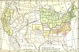 Confederate States Map by The Southern Confederacy Chapter Xv