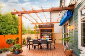 retractable roof pergola patio traditional with awning backyard