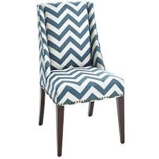 wingback teal dining chair
