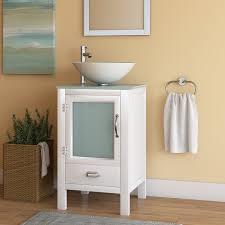 Vanity Set Bathroom Wade Logan Quintana 19 Single Bathroom Vanity Set Reviews Wayfair