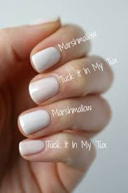 marshmallow nail polish the nail collections