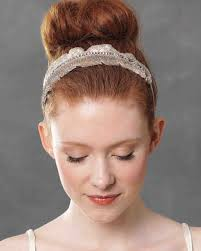 hair accessories for weddings wedding hair accessories martha stewart weddings