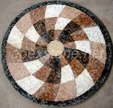 mosaic tile mosaic mosaic pattern floor medallion tile